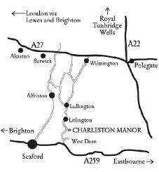 Map of Charleston Manor
